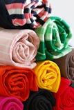 02 σειρές υφασμάτων cottons Στοκ εικόνες με δικαίωμα ελεύθερης χρήσης