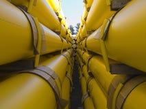02 σωλήνες αερίου Στοκ Φωτογραφίες