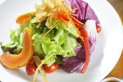 02 υγιείς σαλάτες Στοκ Εικόνα