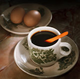02 φλυτζάνι Μαλαισία καφέ Στοκ εικόνα με δικαίωμα ελεύθερης χρήσης