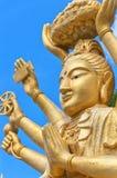 02 вооруженный Будда multi Стоковые Фотографии RF