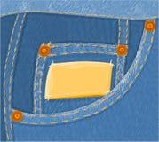 02 джинсыа Стоковое Изображение RF