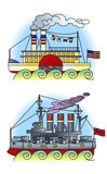 02 корабля Стоковые Фото