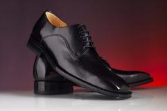 02 роскошных ботинка человека Стоковое Изображение