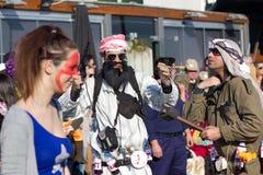 02 19 2012年狂欢节葡萄牙sesimbra 免版税库存图片