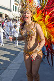 02 19 2012年狂欢节葡萄牙sesimbra 库存图片