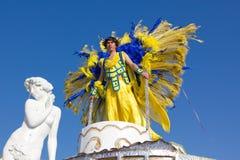 02 19 2012 karnevalportugal sesimbra Royaltyfria Bilder