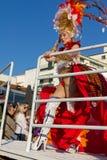 02 19 2012 karnevalportugal sesimbra Arkivbild