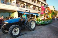 02 19 2012 karnevalportugal sesimbra Arkivfoto