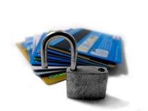 02身分针偷窃开锁的不安全 免版税图库摄影