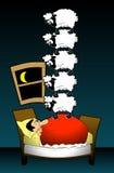 αϋπνία 02 διανυσματική απεικόνιση