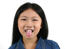 02 asiatiska barnbarn Arkivfoton