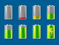 02 bateria ilustracja wektor