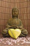 02 buddha älska Arkivbild