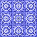 02 ceramicznej bezszwowej płytki Zdjęcie Royalty Free