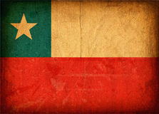 02 Chilean Flag Stock Images