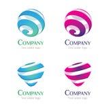 02 ciecza logo Zdjęcie Stock