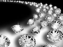 02 diament ilustracji