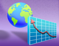 02 economy world 免版税图库摄影