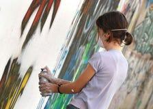 02 grafiti 免版税库存照片