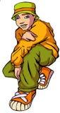 02 hiphop предназначенный для подростков Стоковые Фото