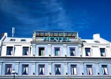 02 hoteli/lów znak Fotografia Stock