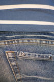 02 jeans arkivfoton