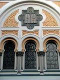 02 josefov西班牙语犹太教堂 库存照片