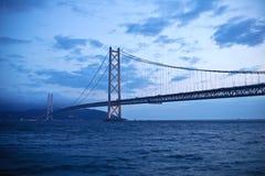 02 kaiky Akashi bridżowego Fotografia Royalty Free