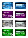 02 karty kredytowa paczka Obrazy Stock