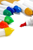 02 koloru farby serii woda Zdjęcie Stock