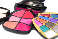 02 kosmetyków serii kobiety Zdjęcia Stock