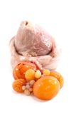 02 kurczaków jajnik Zdjęcie Stock
