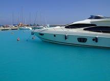 02 luksusowego jachtu obraz royalty free