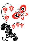 02 motyliego kwiatu Fotografia Royalty Free