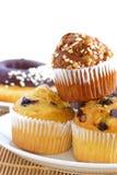 02 muffin σειρές Στοκ Εικόνες