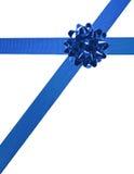 02 niebieskie wstążki Fotografia Stock