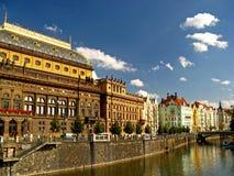 02 obywateli Prague teatr Obraz Royalty Free