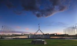 02 parl Canberra Zdjęcie Stock