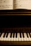 02 pianino Zdjęcia Royalty Free