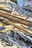 02 pile planks Στοκ Εικόνες