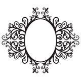 02 ramowy ornament Zdjęcie Royalty Free