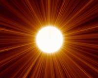 02 słońce Fotografia Stock