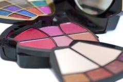 02 set kvinnor för makeup Royaltyfri Fotografi