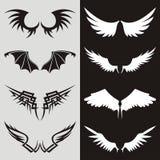 02 skrzydła royalty ilustracja