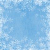 02 snow graniczny Obraz Royalty Free