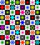 02 snowflakes ημέρας Χριστούγεννα Στοκ εικόνες με δικαίωμα ελεύθερης χρήσης