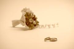 02 som gifta sig Arkivfoto