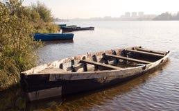 02 stara łódź Fotografia Stock