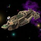 02 statku kosmicznego. Obrazy Stock